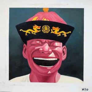 当代主义油画作品30 X 30CM  H10