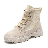 工厂直销2018新款马丁靴女英伦风学生韩版百搭女靴春秋单靴短靴子