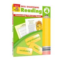 Evan-Moor Skill Sharpeners Reading Grade 4 小学四年级阅读练习册 美国加州教