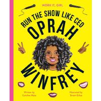 英文原版 了不起的女孩:奥普拉・温弗瑞 Work It, Girl: Oprah Winfrey: Run the s