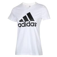 Adidas阿迪�_斯女�b�\�臃��A�I短袖休�e透��T恤FQ3238