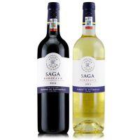 拉菲传说干红干白 法国红酒 拉菲传说波尔多葡萄酒 750ml*2