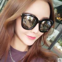 偏光太阳镜女 墨镜 户外新款休闲百搭潮个性大框墨镜圆脸明星同款眼镜眼睛近视