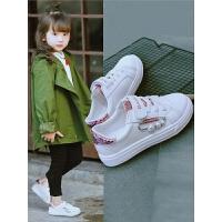 女童小白鞋春秋季鞋子潮童鞋运动鞋中大童儿童鞋板鞋