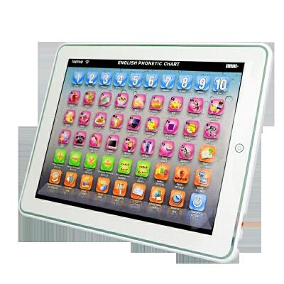 儿童玩具游戏益智平板电脑可充电宝宝早教点读学习机03-6岁