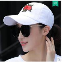 年韩版潮人街头休闲百搭学生帽子女士夏天棒球帽青鸭舌帽女遮阳帽可礼品卡支付