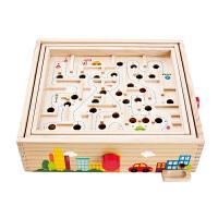 Hape平衡滚珠迷宫3-6岁控物平衡宝宝儿童益智早教启蒙玩具益智游戏E8355
