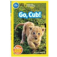 英文原版绘本 National Geographic Kids pre-Readers:GO Cub 国家地理分级阅读