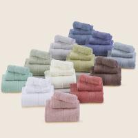 20191107083611173纯棉素色毛巾浴巾套装组合70*140纯棉浴巾