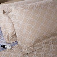 【人气】洁丽雅 Careseen+轻奢系列 欧式纯棉贡缎床品配饰色织提花靠垫沙发抱枕