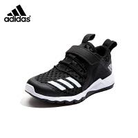 【超品价:229元】阿迪达斯Adidas童鞋2019夏季新款男童运动鞋中大童休闲透气跑步鞋(5-12岁可选)G2870