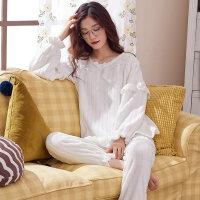 珊瑚绒睡衣女秋冬季韩版公主风套装加厚甜美可爱学生法兰绒家居服