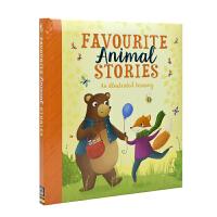【首页抢券300-100】Favourite Animal Stories 宝贝爱 精装软包封面动物故事合集 幼儿英语故