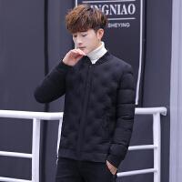 棉袄男2018新款棉衣韩版潮流冬季帅气青少年男士学生冬装外套