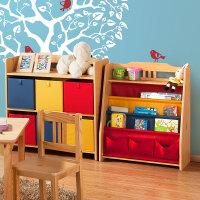 【当当自营】好事达 儿童收纳组合 玩具储物架 乐番1034+1036
