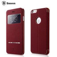 倍思 iphone6s plus保护套防摔苹果6s plus手机壳5.5翻盖式皮套男