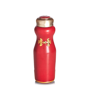 乾唐轩活瓷杯华风旗袍随身杯创意陶瓷水杯杯子带盖女士礼物