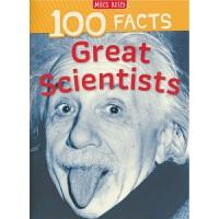 100 Facts Great Scientists 100个事实 伟大的科学家 儿童英语百科科普常识 百科全书 英文原