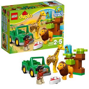 [当当自营]LEGO 乐高 得宝系列 草原动物 积木拼插儿童益智玩具 10802