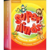英音版剑桥小学英语教材 Super Minds Starter Flashcards (Pack of 78) 入门级 教学卡片