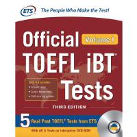 Official TOEFL iBT Tests Volume 1, Third Edition 9781260441