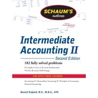英文原版 中级会计概论二,*版 Schaum's Outline of Intermediate Accounting