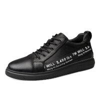 品牌内增高男鞋小脚休闲鞋36码厚底特大码48码49码50码板鞋皮鞋大脚鞋