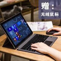 微软New新款Surface go无线蓝牙键盘10.1寸超薄专业键盘盖保护套 智能键盘Surface go专用:黑色【