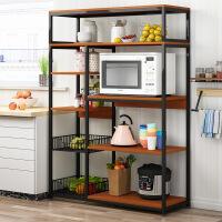 【一件3折】微波炉架厨房置物架落地多层收纳架储物架子省空间厨房置物碗柜架