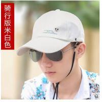 帽子鸭舌帽韩版棒球帽男士户外太阳帽防晒遮阳帽时尚运动