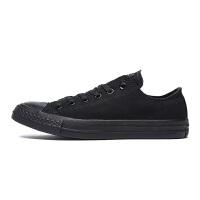 Converse匡威男鞋女鞋 Chuck Taylor系列常青款黑色低帮帆布鞋 1Z635
