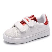童鞋女童帆布鞋儿童鞋男童鞋宝宝鞋魔术贴鞋子