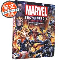 漫威百科 新版 英文原版 漫威百科全书 Marvel Encyclopedia New Edition DK出品 斯坦