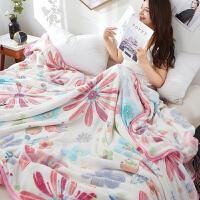 珊瑚绒毛毯被子夏天单人双人儿童小毛巾被夏季空调毯子午睡