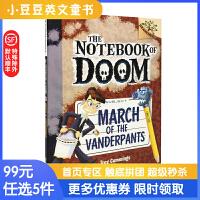 进口英文原版 March of the Vanderpants 毁灭日记12 万德潘思校长的进军