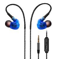 运动耳机入耳重低音线控手机耳机带麦后挂式插拔耳机
