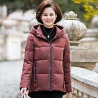 №【2019新款】送胖妈妈的中年女装冬装羽绒服中老年妈妈外套大码棉衣短款洋气棉袄