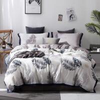 床上四件套全棉纯棉家居简约春北欧风床上用品天套件 四件套 适用1.8-2m床 建议搭配220*240