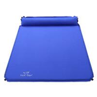 户外3人自动充气垫帐篷防潮垫双人5cm气垫睡垫