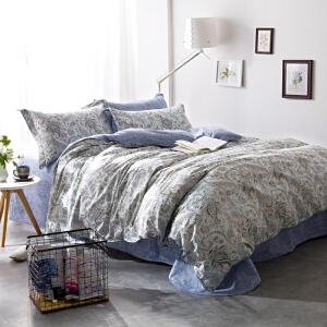 全棉四件套春 纯棉四件套夏 床品多套件床上用品床单被套