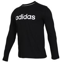 Adidas阿迪达斯 男装 NEO运动休闲圆领长袖T恤 EI4723