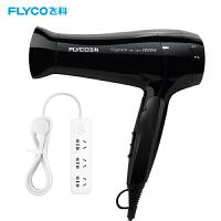 飞科(FLYCO) 电吹风机FH6231家用吹风筒2000W大功率冷热风可折叠过热保护电吹风机风筒(FS2008插排套餐