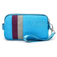 手拿包女长款钱包手抓包女士大手机包防水帆布拉链女包手拎小包包