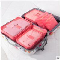 加宽手提透气网格布旅游收纳内衣整理袋套装旅行收纳袋行李箱衣服整理包