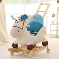 木马儿童摇马两用带音乐婴儿摇椅宝宝益智玩具生日周岁礼物