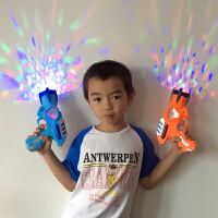 电动冲锋枪2-3岁小男孩塑料玩具手抢儿童宝宝声光音乐电子玩具枪