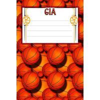 【预订】Basketball Life Gia: College Ruled Composition Book