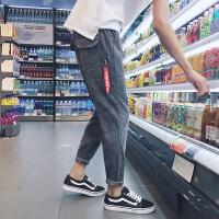 秋冬长裤男士运动韩版运动裤裤子宽松小脚青少年小脚裤休闲裤