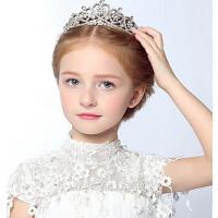 新款时尚女孩公主王冠皇冠 女童头饰发箍水钻出配饰