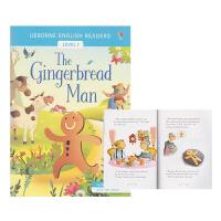 【首页抢券300-100】Usborne English Readers Level 1 The Gingerbread